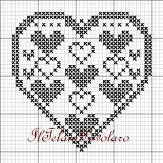... di preghiere per le vittime di Bruxelles Scusate ma oggi abbiamo qualche problemimo con la condivisione del post Crochet Patterns Filet, Doily Patterns, Embroidery Patterns, Cross Stitch Heart, Cross Stitch Alphabet, Cross Stitch Embroidery, Cross Stitch Designs, Cross Stitch Patterns, Graph Paper Art