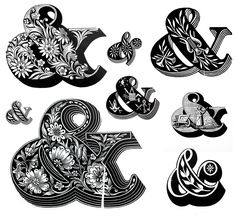 Louis John Pouchée alphabets Described as the most... | Type Worship: Inspirational Typography & Lettering