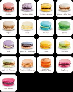 Try a macaroon! Done on 3/24/2014. I tried a Rose one and a Passion fruit dark chocolate one.