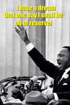 Happy MLK day! I have a dream that one day I shall be off of reserve! Flight attendant life www.amerikaairlines.com