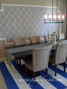 Create a Feature Wall with Framed Wallpaper