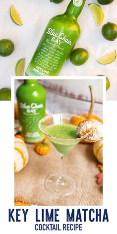 Key Lime Matcha is an easy two ingredient cocktail. This fall recipe is a delicious drink perfect for brunch or any time of the day. ICombine both in a shaker and pour over ice.⠀ #bluechairbay #BCBHappyHour #keylimerumcream Graham Cracker Crust, Graham Crackers, Key Lime Rum Cream, Cocktail Recipes, Cocktails, Matcha Tea Powder, Bay Rum, Yummy Drinks, Fall Recipes