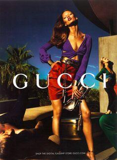 0f1d5a7389 Color-Block Knot-Front Dress | Gucci Fashion News, Gucci Fashion, Fashion