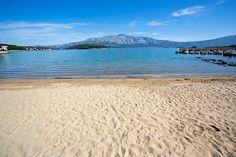 lumbarda- sandy beach
