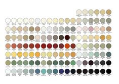 farrow and ball colour chart  ECO friendly, all in stock xo.