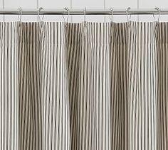 Waffle Weave Shower Curtain 72 X White Ruffle CurtainsCurtains DrapesBathroom ColorsBathroom IdeasTicking StripeKid