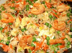 Adding to your fried is an easily savory way to bring an already delicious dish to the next level! Check out this for Seafood Fried Rice and visit our website for even more! Crab Fried Rice Recipe, Crab And Shrimp Recipe, Shrimp And Scallop Recipes, Crab Rice, Seafood Rice Recipe, Seafood Fried Rice, Shrimp And Rice Recipes, Seafood Recipes, Cooking Recipes