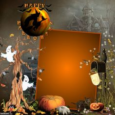 Happy Halloween Halloween Frames, Happy Halloween, Painting, Art, Art Background, Halloween Picture Frames, Painting Art, Kunst, Paintings