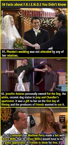 50 Interesting Facts about F.R.I.E.N.D.S   Fact Republic