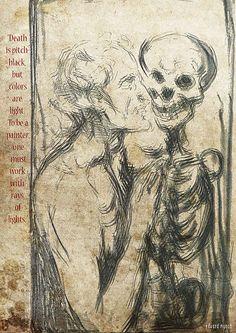 Edvard Munch on Behance