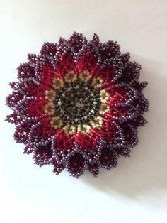 Уичольский цветок. Схема. Часть 2 — Бисерный Дайджест
