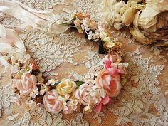 フラワーティアラ...Flower Tiara...By:eglantyne.
