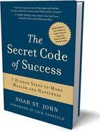 There are 3 stages to self-belief as Noah St. John explains in his book, The Secret Code of Success.