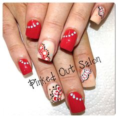 Beautiful nail art!  Check out Pinked Out Salon on FB!