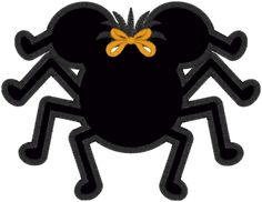 Halloween Minnie Mouse Spider Disney Personalized