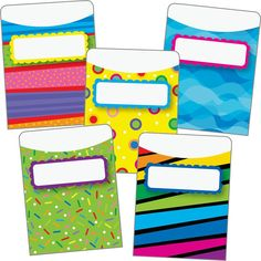 Create A Colorful And Effective Organizing System For Small Cards And Papers Library Checkout System, Library Pockets, Class Library, Really Good Stuff, Classroom Setup, Pattern Library, Small Cards, First Grade, Homeschool