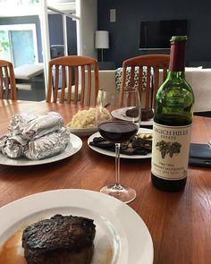 When your favourite gal pal makes you steak for lunch! @missjen619 . . . . . #steak #ribeye #tenderloin #mediumrare #meat #beef #moo #paloalto #grgichhills #wine #vino #foodie #foodgasm #noms #foodstagram #girldate #montereylocals #pacificgrovelocals- posted by EKT https://www.instagram.com/hanue. See more of Pacific Grove, CA at http://pacificgrovelocals.com