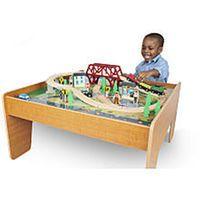 Imaginarium Train Set with Table - 55-Piece