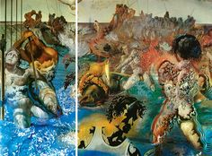salvador #Dali Tuna Fishing #vintage #surrealist #surreal ...