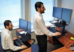 Ergotron WorkFit-S 33-341-200 Dual Sit-Stand Workstation – Steel, Plastic, Aluminum – Black  http://www.discountbazaaronline.com/2015/12/04/ergotron-workfit-s-33-341-200-dual-sit-stand-workstation-steel-plastic-aluminum-black/