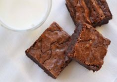 12TB cocoa powder melted with 4TB butter = 4oz unsweetened baking chocolate. quinoa flour brownies
