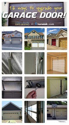 161 Best Garage Door Decorations And Makeover Images