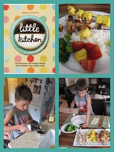 Let your kids plan and cook dinner to help build confidence!