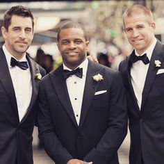 Aaron Rodgers, Randall Cobb and Jordy Nelson