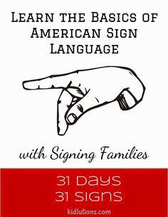 Learn the basics of #ASL American Sign Language with @louisesattler @louiseASL