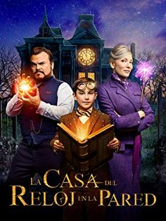 New Poster for Eli Roth's Comedy-Mystery 'The House with a Clock in Its Walls' - Starring Jack Black Cate Blanchett Kyle MacLachlan and Owen Vaccaro Action Movies, Hd Movies, Movies Online, Movies And Tv Shows, Coco Film, Love Movie, Movie Tv, New Movies 2018, Night Film