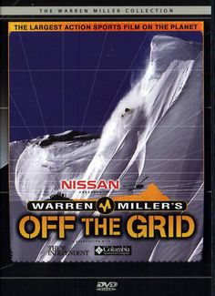 OFF THE GRID - Extreme Skiing DVD - Warren Miller - Ski http://www.ebay.co.uk/sch/m.html?_nkw=grid&_sacat=0&_odkw=&_osacat=0&_ssn=robs_rare_recordings