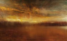 """Saatchi Online Artist: Maurice Sapiro; Oil, 2013, Painting """"And The Clouds Came Rolling In"""""""