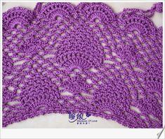 Fada do Crochet: XALE, XALES ... PEÇA CORINGA!!!!
