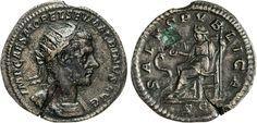 NumisBids: Numismatica Varesi s.a.s. Auction 65, Lot 218 : MACRINO (217-218) Dupondio. D/ Busto radiato e corazzato R/ La...