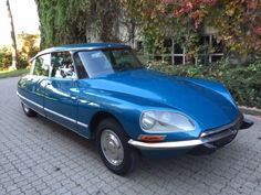 Citröen DS 23 IE Pallas - 1972 Citroen Ds, Retro Cars, Vintage Cars, S Car, Old Cars, Cars And Motorcycles, Convertible, Classic Cars, Racing