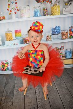 Pin for Later: 31 Halloween Costumes You Can Make Out of a Tutu Gumball Machine Gumball Machine Tutu Costume ($59)
