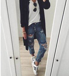 Cute Black And White Outfits Tumblr: Untitled   image #3407769 by marine21 on Favim com,