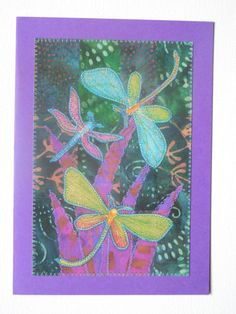 This is a 5x7 greeting card. Bright and colorful, it could be used for any occasion! This listing is for the card in the first picture.  The