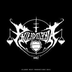 Philadelphia Black Metal Logo - Version 2 by luvataciousskull.deviantart.com on @deviantART