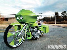 The Evil Leprechaun - 2004 Harley-Davidson Road Glide #Baggers