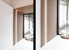 PROJECT: Mansion in Kortrijk | Maestro Design Wood Panel Texture, Wood Interior Design, Timber Cladding, Japanese House, Wood Accents, Design Moderne, Office Interiors, Contemporary Design, Building A House