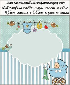 Imprimolandia: Etiquetas para bebés
