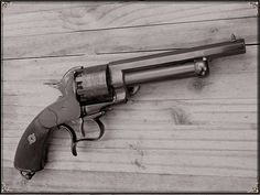 LeMat Revolver (Modern reproduction.)