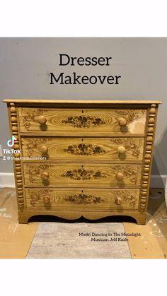 Diy Furniture Renovation, Bedroom Furniture Makeover, Paint Furniture, Recycled Furniture, Refurbished Furniture, Antique Furniture, Diy Dresser Makeover, Milk Paint, Furniture Restoration