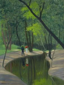 Forest of Boulogne - Felix Vallotton - The Athenaeum