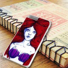 Ariel The Little Mermaid Art iPhone 6 Plus|iPhone 6S Plus Case