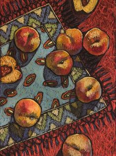 Buy Persimmon, Pastel drawing by Natalia Leonova on Artfinder. Discover thousands of other original paintings, prints, sculptures and photography from independent artists. Still Life Drawing, Painting Still Life, Still Life Art, Pastel Drawing, Painting & Drawing, Paintings For Sale, Original Paintings, Pastel Artwork, Pastel Paintings