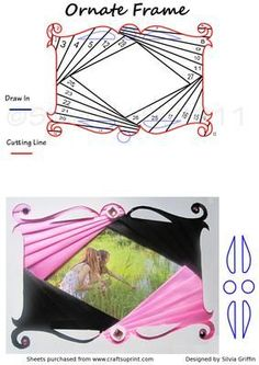 Iris Folding Frame