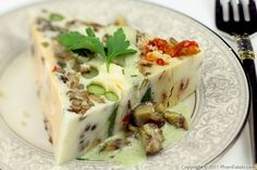 "Terrine de légumes is another attempt on my part to share one of my favorite French ""meat"" dishes with my husband Lulu, who\"