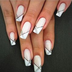 Wedding nails french posts 41 new Ideas nails french Wedding nails french posts 41 new Ideas French Nail Art, French Nail Designs, French Tip Nails, Nail Art Designs, Nails Design, White French Nails, Elegant Nail Designs, Diy Nails, Cute Nails